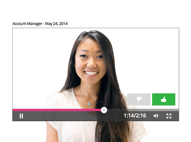 Jobvite Video - Video Interviews and Screening