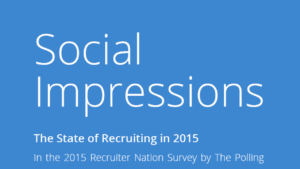 2015 Recruiter Nation Survey