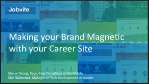 Jobvite - Boost Your Brand with a Magnetic Career Site