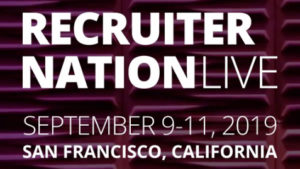 Recruiter Nation Live 2019